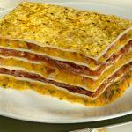 Receita de lasanha de Abóbora com Carne Seca